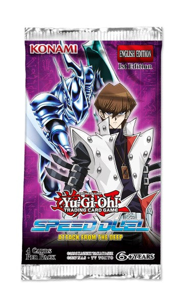 Yu-Gi-Oh! Speed Duel: Attack from the Deep Booster Box