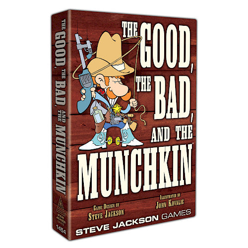 Munchkin: The Good the Bad and the Munchkin *Sun Damage*