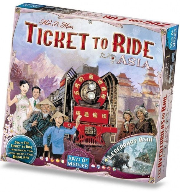 Ticket to Ride Asia Expansion