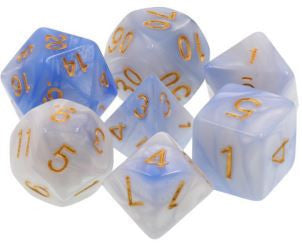 TMG Dice Sailors Vision - Light Blue/White Fusion