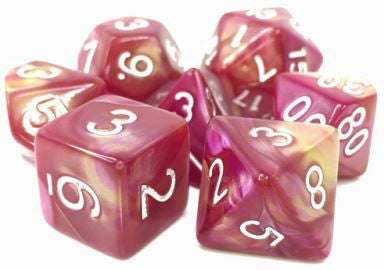 TMG Dice Sharazards Tale - Yellow/Rose Fusion