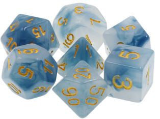 TMG Dice Stormcaller - Blue Jade Opaque