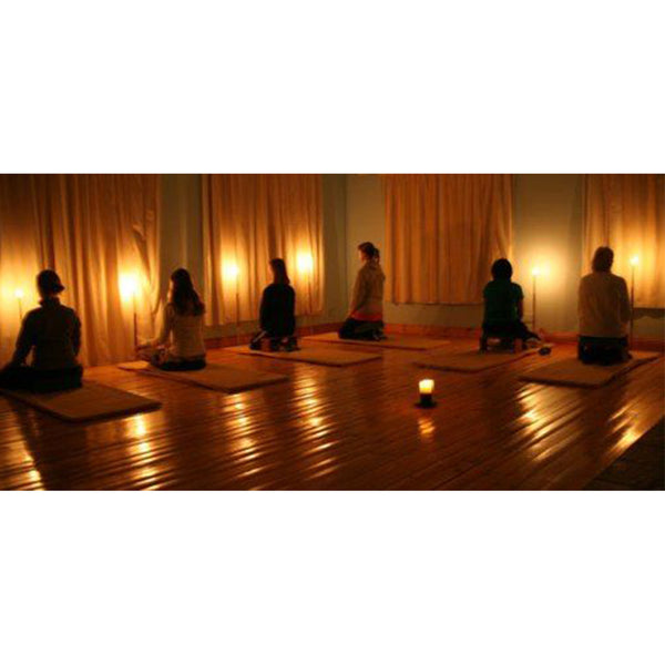 Meditation with Asha Candle