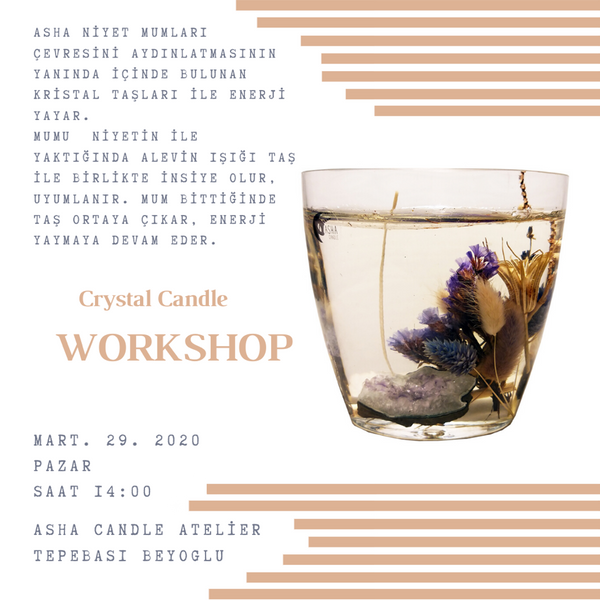 Create Your Own Crystal Wish Candle with Asha Candle | FeelHeal.me