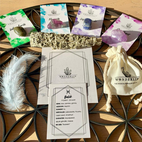 Crystal World Starter Kit | FeelHeal.me