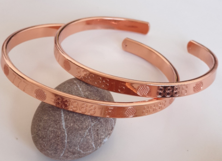 Miracle Energy of Numbers Copper Bracelet | FeelHeal.me