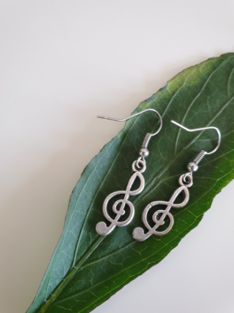 Music Key Earrings | FeelHeal.me