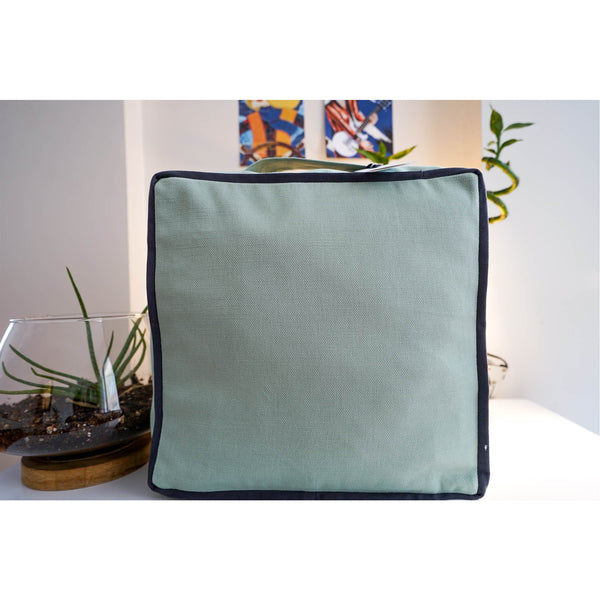 Serenity Destination Square Top Support Meditation Cushion | FeelHeal.me