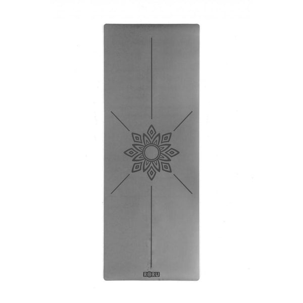 Sun Series Grey Yoga Mat | FeelHeal.me