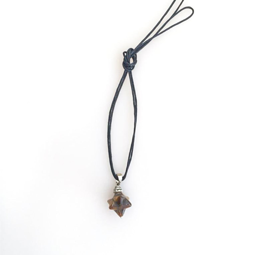 Merkaba Tigereye Necklace