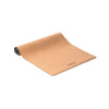 Cork Coating Natural Rubber Patterned Yoga Mat