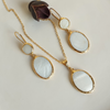 OVAL NACRE SET | FeelHeal.me