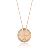 Tengri 1 Circle Necklace Rose | FeelHeal.me