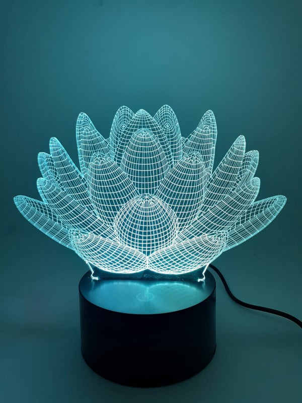 3D Lamp Lotus Flower | FeelHeal.me