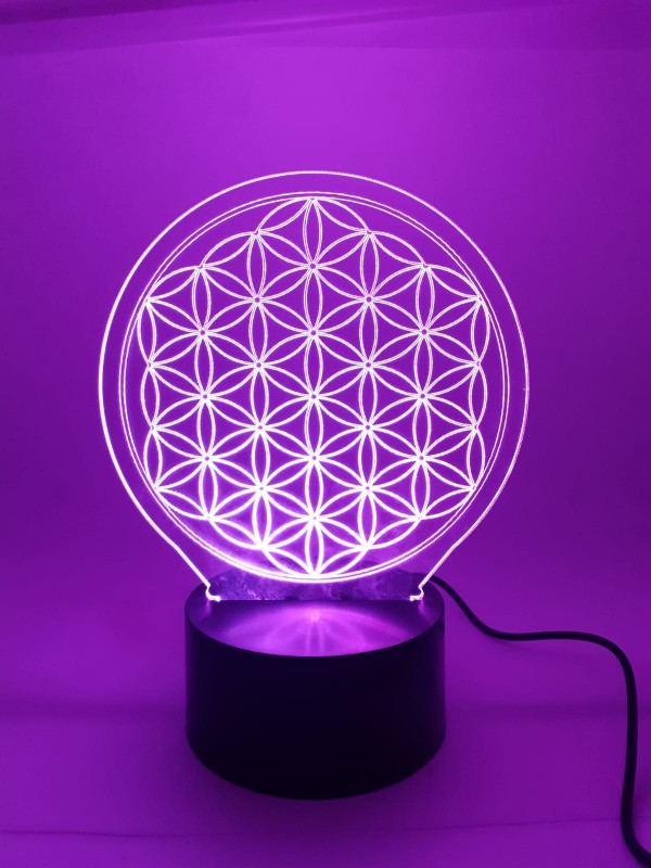 3D Lamp Flower of Life | FeelHeal.me