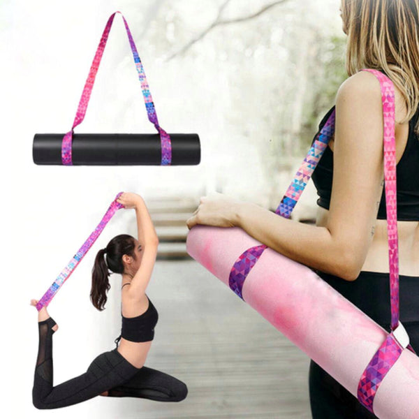 Rainbow Yoga Mat Carrying Strap | FeelHeal.me