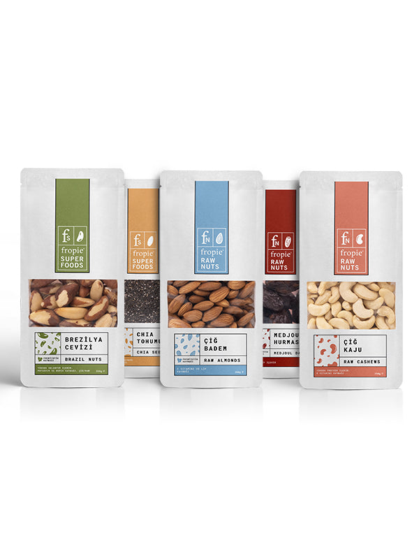 Fropie Raw Nuts & Superfoods Jumbo Introduction Pack | FeelHeal.me
