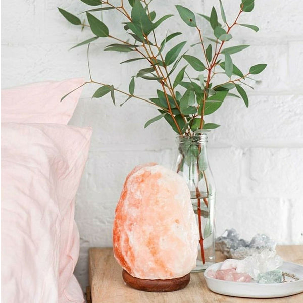Himalayan Natural Salt Lamp | FeelHeal.me