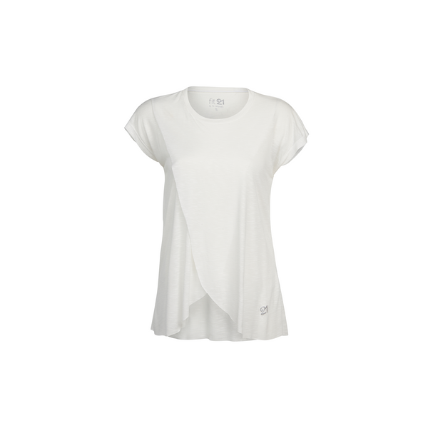 3 Layer Pleated Blouse White | FeelHeal.me