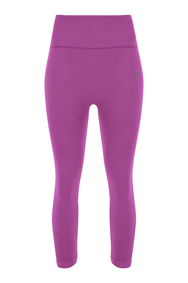 Capri Leggings Lila Violet | FeelHeal.me