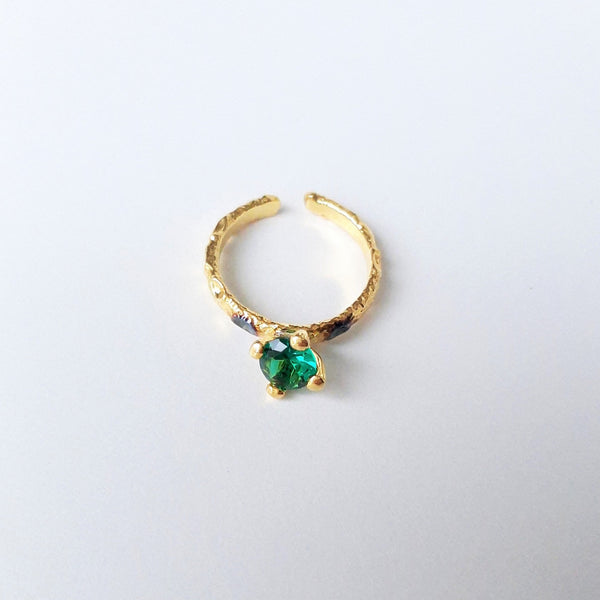 Handmade Emerald Ring | FeelHeal.me