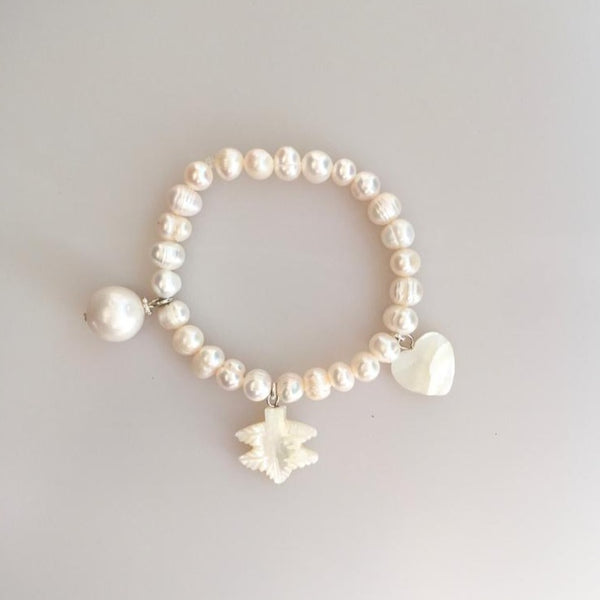 Pearl and Mother of Pearl Bracelet