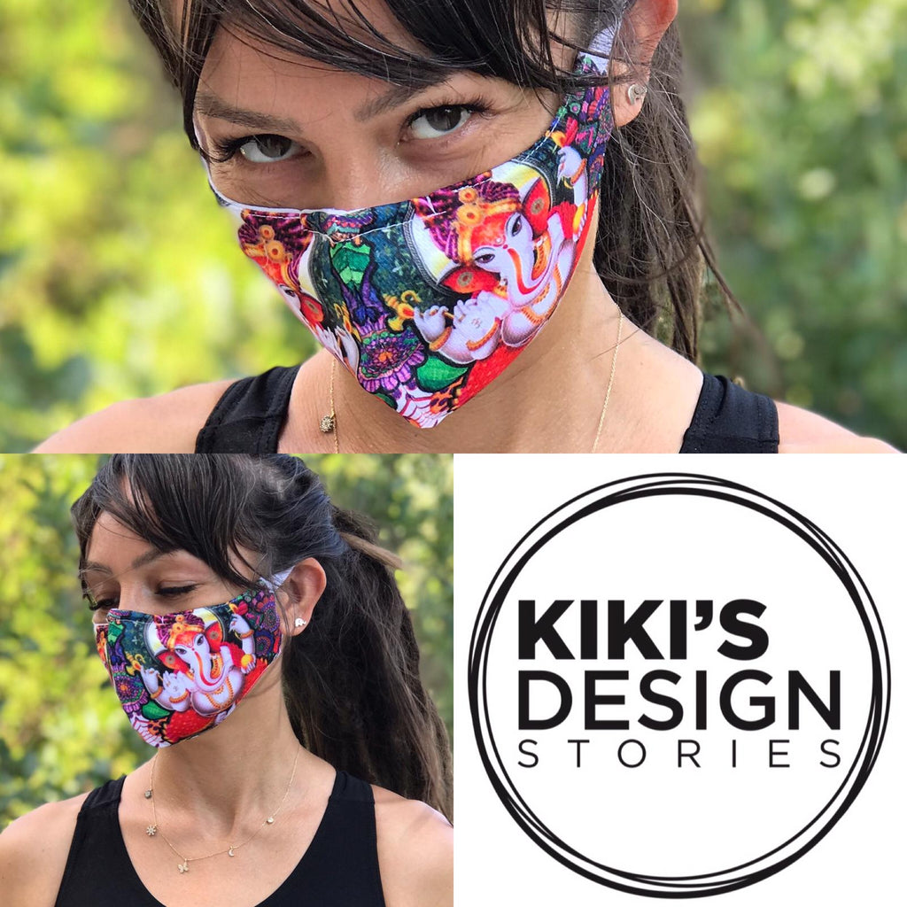 Colorful Design Face Mask | FeelHeal.me