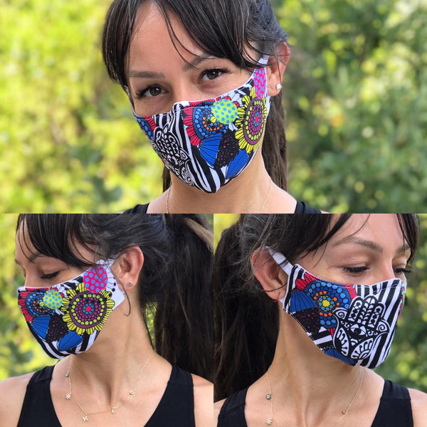 Mandala Design Face Mask | FeelHeal.me