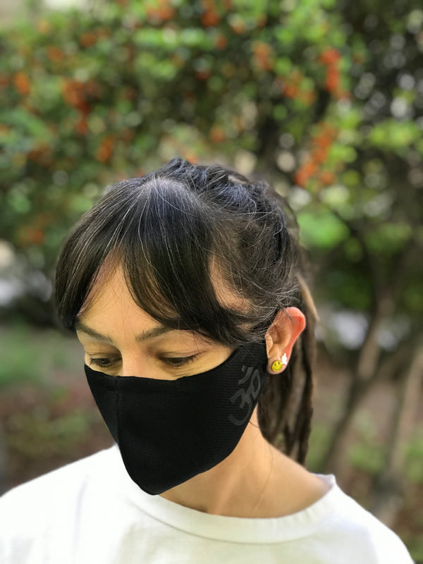 Aum Black Design Face Mask | FeelHeal.me