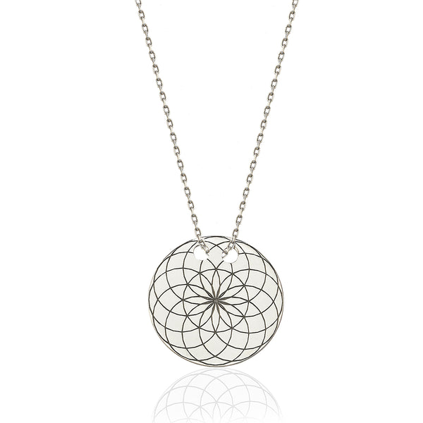 Torus Circle Necklace | FeelHeal.me