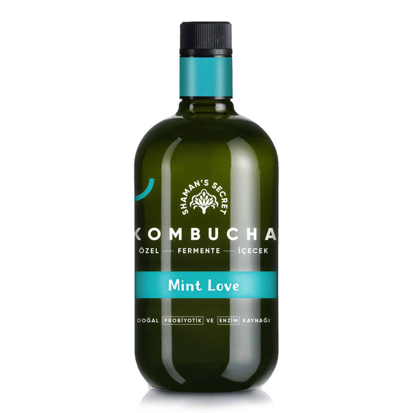 Mint Love Kombucha- 750ml | FeelHeal.me