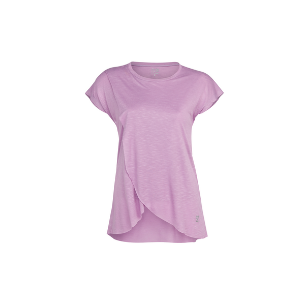 3 Layer Pleated Blouse Lilac | FeelHeal.me