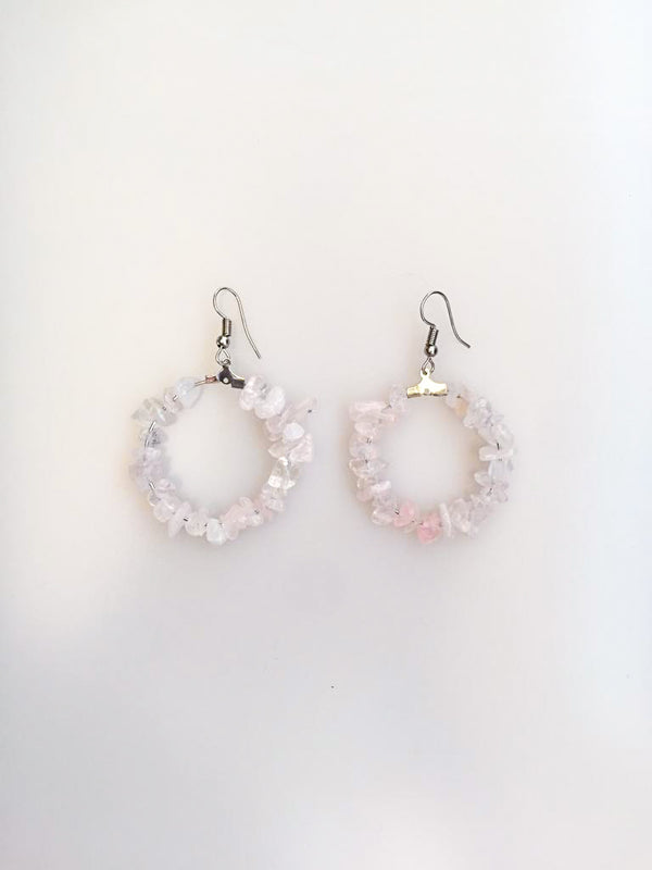 Crystal Quartz Earrings | FeelHeal.me