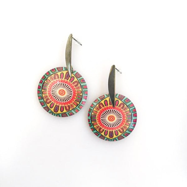 Mandala Earrings | FeelHeal.me