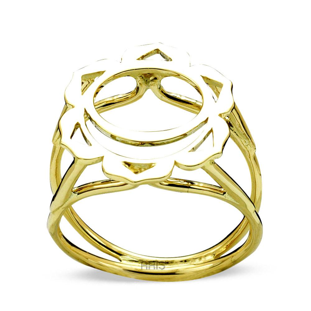 Sacral Chakra Gold Ring | FeelHeal.me