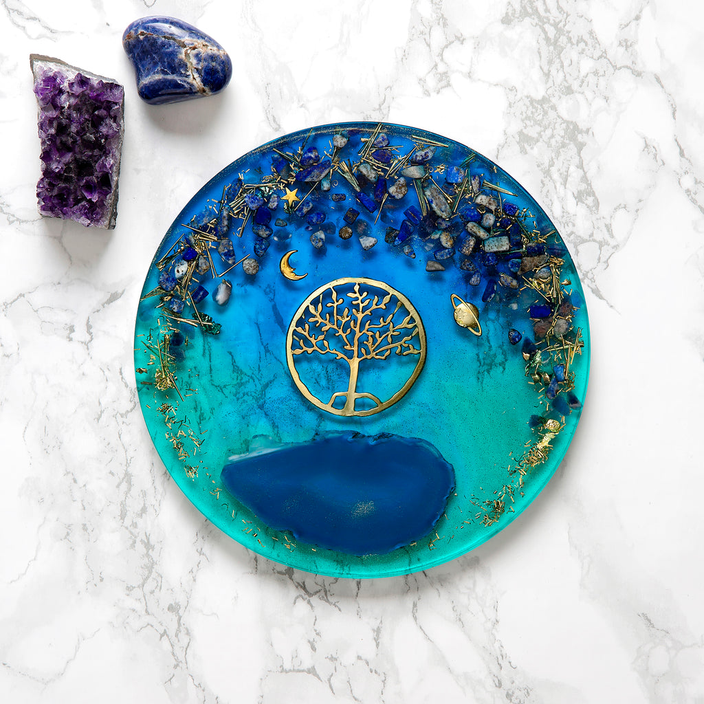 Tree of Life Large Serving Tray | FeelHeal.me