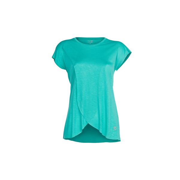 3 Layer Pleated Blouse Turquoise | FeelHeal.me