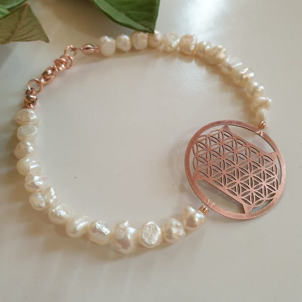 Special Cut Flower of Life Bracelet | FeelHeal.me