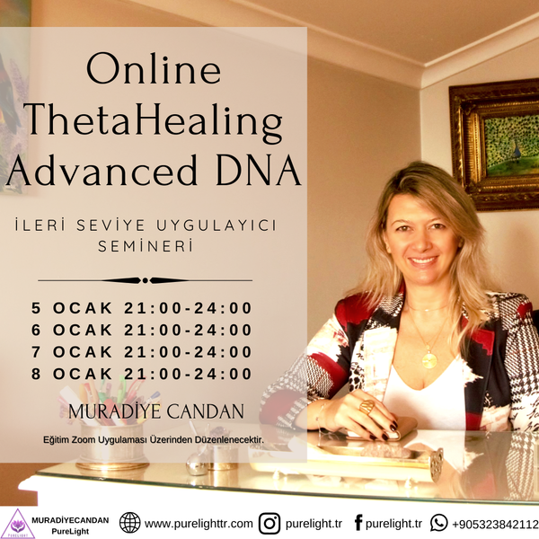 ThetaHealing® Technique Advanced DNA Practitioner Seminar (Online) | FeelHeal.me