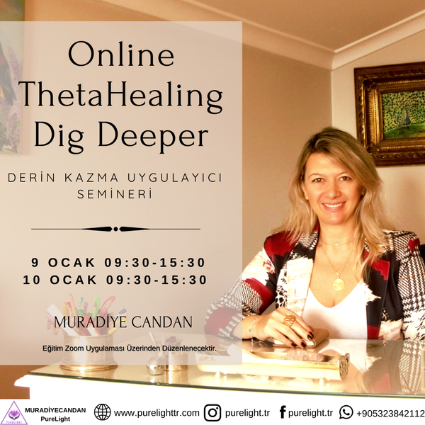 ThetaHealing® Technique Deep Digging Practitioner Seminar (Online) | FeelHeal.me