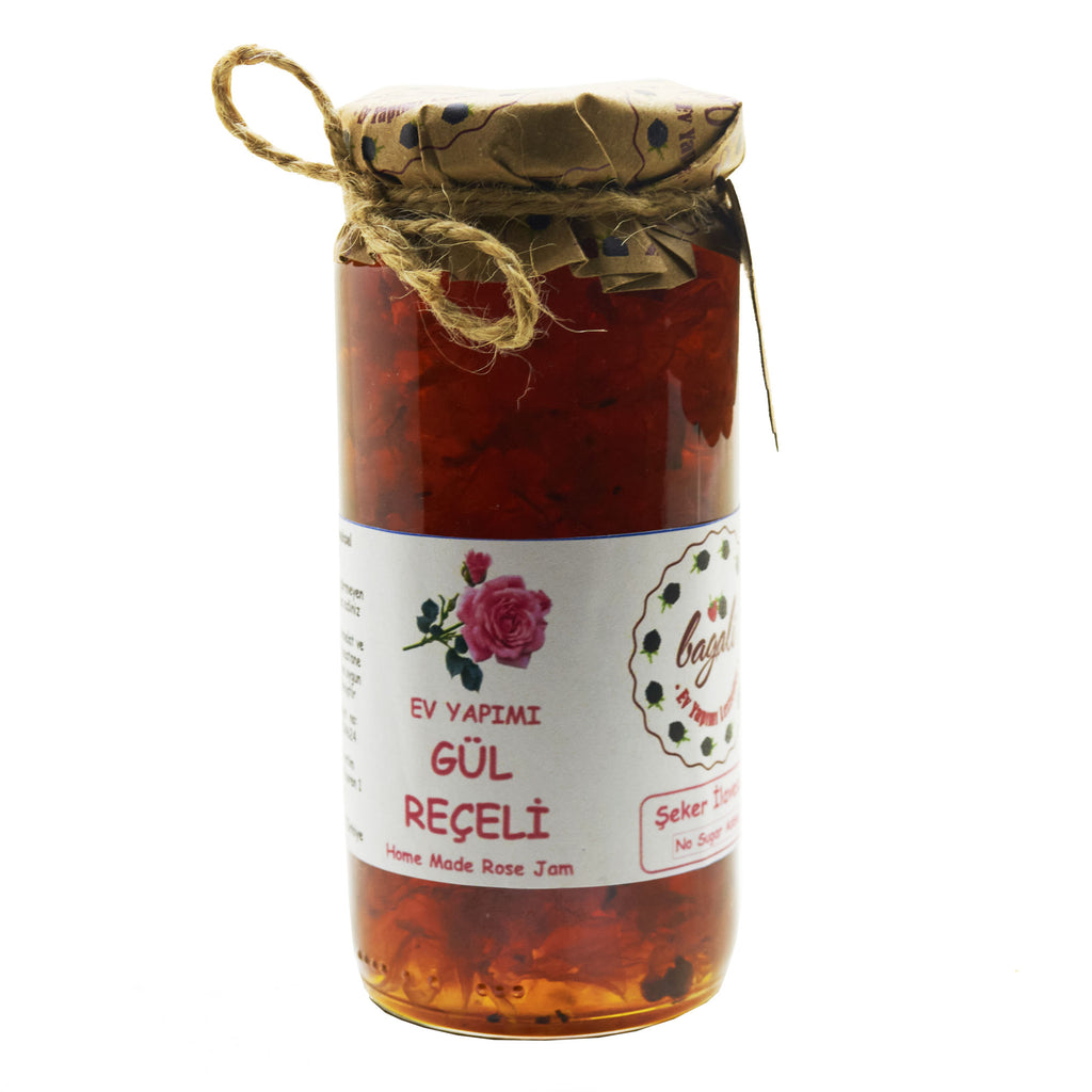Rose Jam No Sugar Added | FeelHeal.me