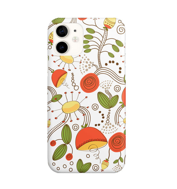 iPhone 11 Ethnic Floral Pattern Phone Case | FeelHeal.me