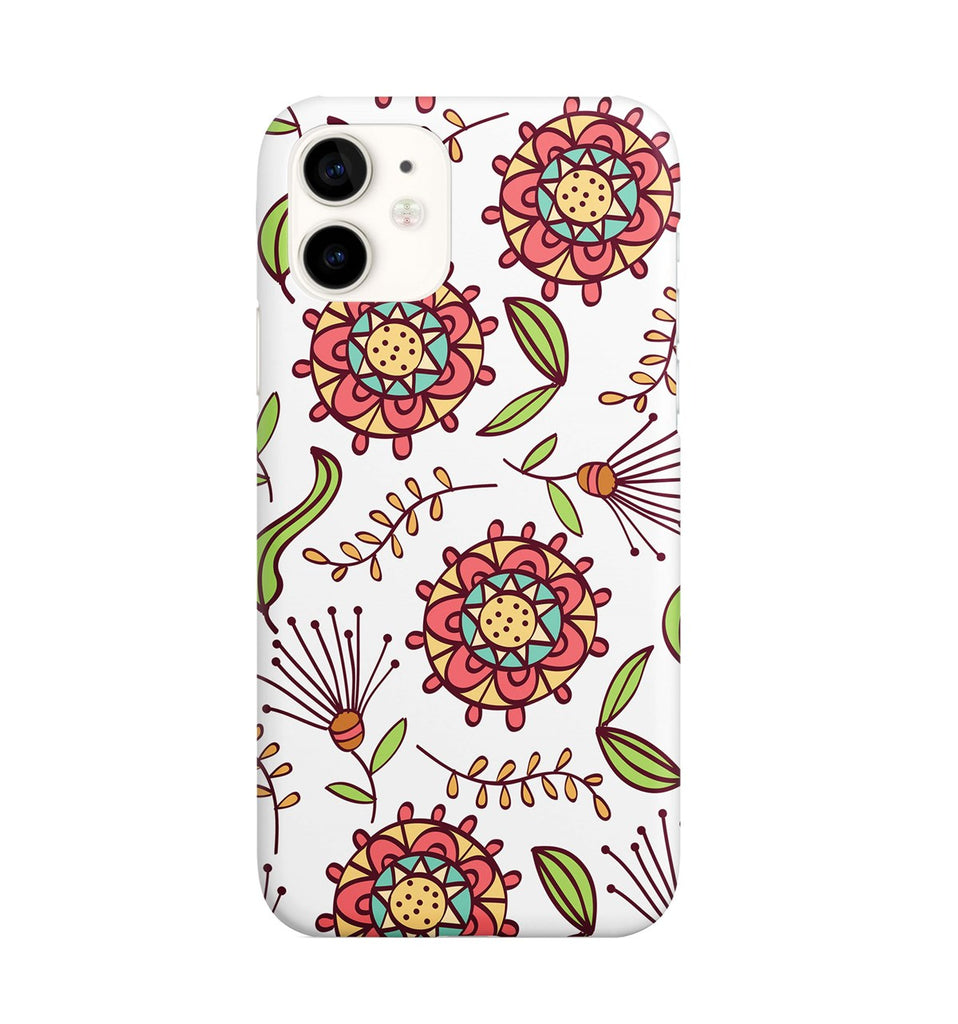 iPhone 11 Ethnic Floral Phone Case | FeelHeal.me