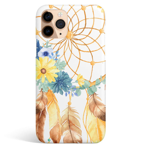 iPhone 11 Pro Max Ethnic Mandala Ring Pattern Phone Case | FeelHeal.me
