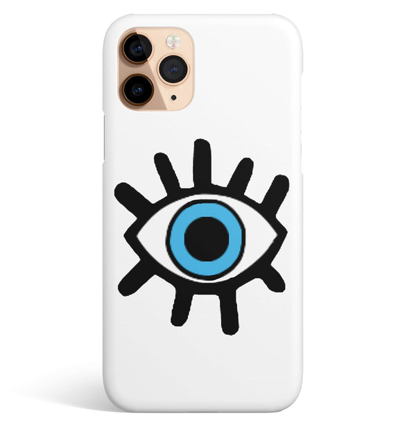 iPhone 11 Pro Max Ethnic Blue Eye Pattern Phone Case | FeelHeal.me