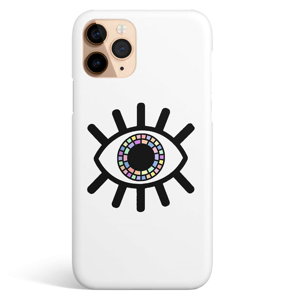iPhone 11 Pro Max Ethnic Colored Eye Pattern Phone Case | FeelHeal.me