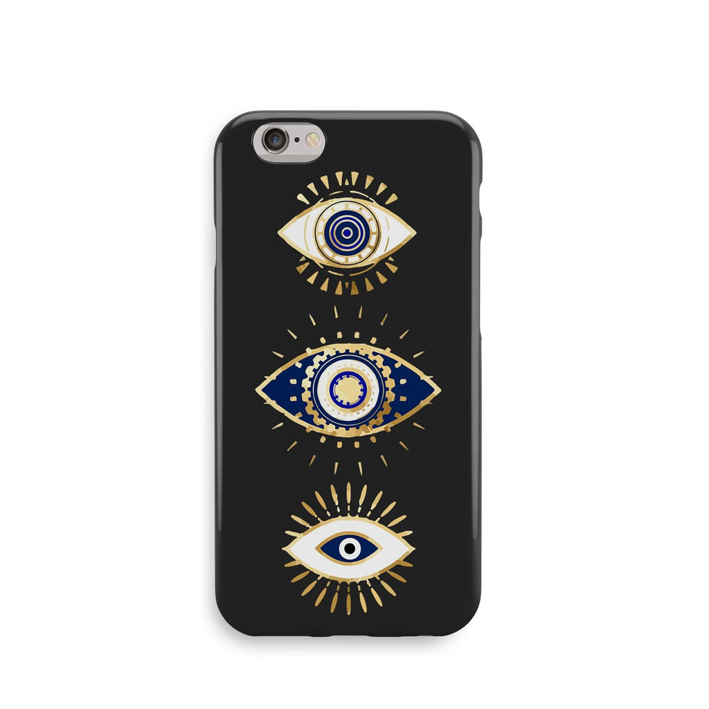 iPhone 6-6s Color Gold Ethnic Eye Design Case | FeelHeal.me