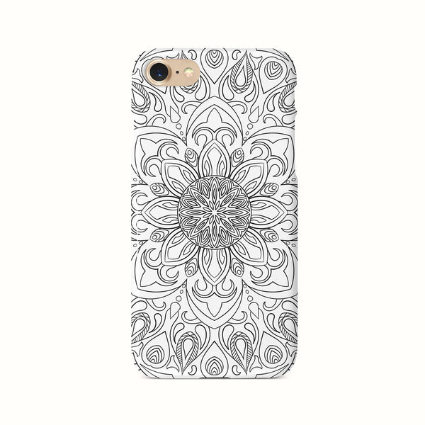 iPhone 7-8- SE 2020 Ethnic Line Drawings Pattern Phone Case | FeelHeal.me