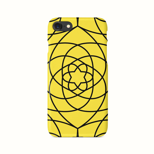 iPhone 7-8- SE 2020 Yellow Ethnic Pattern Phone Case | FeelHeal.me