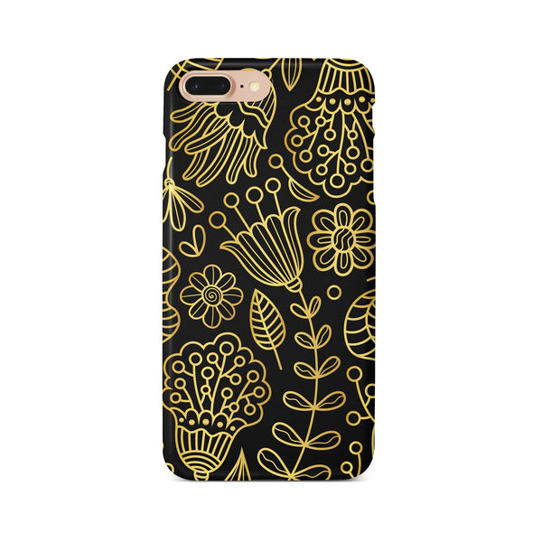 iPhone 7-8 PLUS Ethnic Black Pattern Phone Case | FeelHeal.me